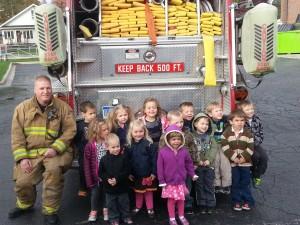 Preschool Fire Truck