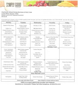 jan 2015 menu